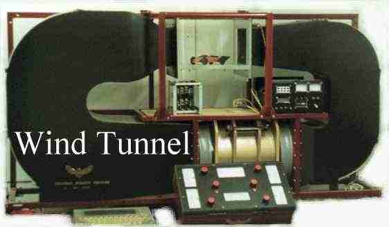 Nelson's Mk2 wind tunnel - electronic measurement