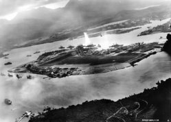 Pearl Harbor attacked on 7 December 1941