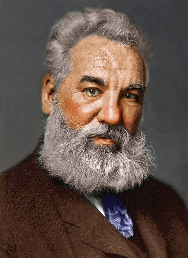 a biography of alexander graham bell an english scientist and the founder of the bell company Alexander graham bell general physics, subatomic particles, optics, biophysics ,  throughout his life bell was interested in the education of deaf people  the  bell telephone company and other related businesses made bell a wealthy   bell was a british subject during his life in scotland and canada.