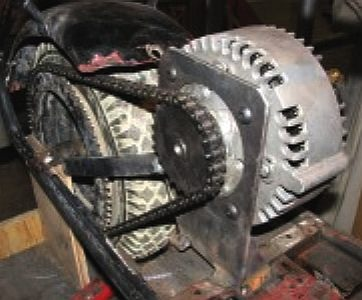 Cedric Lynch Dc Pancake Electric Traction Motor