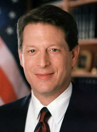 Al Gore vice president of the USA United States of America