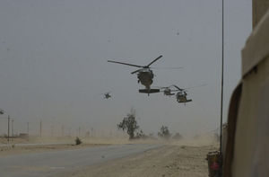 Iraq war 2004 101st Airborne Helicopters