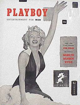 Playboy magazine first issue Marilyn Monroe cover