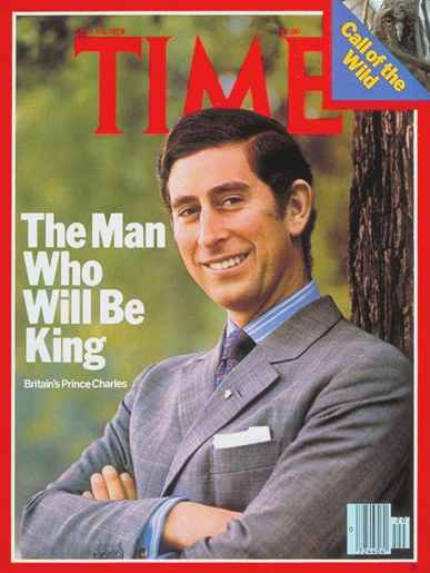 Prince Charles on Time Magazine