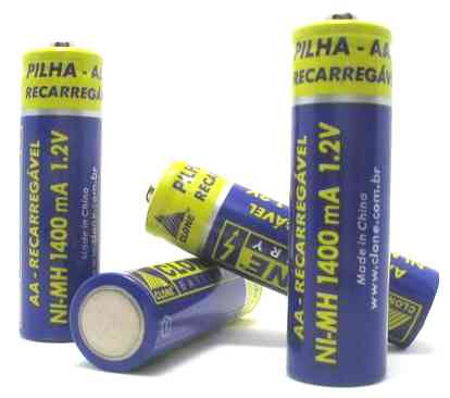 Some batteries contain toxic heavy metals NI-MH