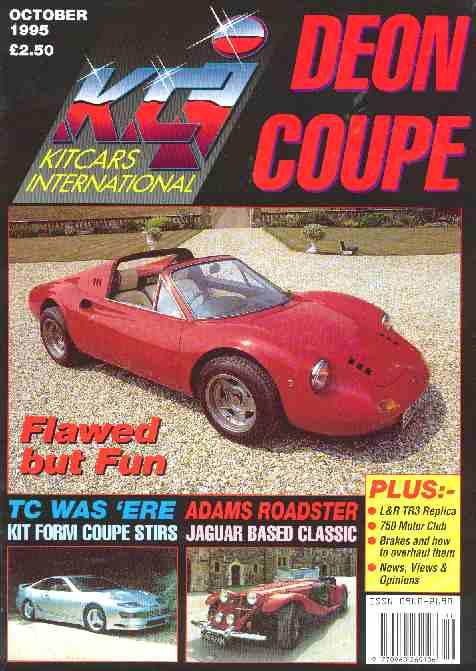 KIT CARS INTERNATIONAL MAGAZINE NEWS DESKS AND LINKS - Sports cars international