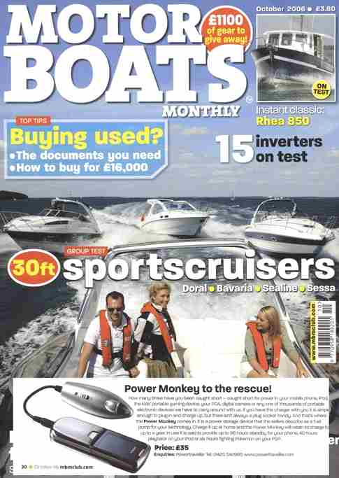Motor Boat Monthly Magazine All Boats