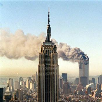 9/11 Twin Towers CNN news coverage September 11