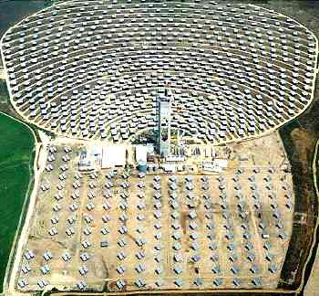 Thermo solar power station Seville, Spain