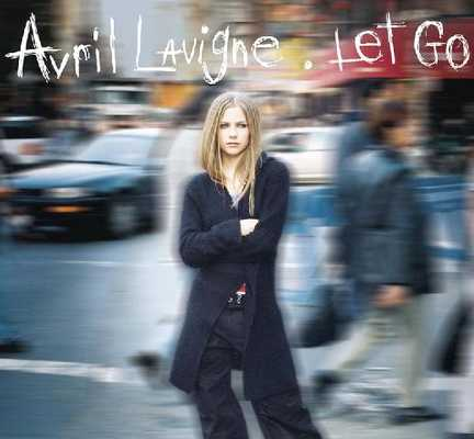 Let Go music album - 2002 Avril Lavigne
