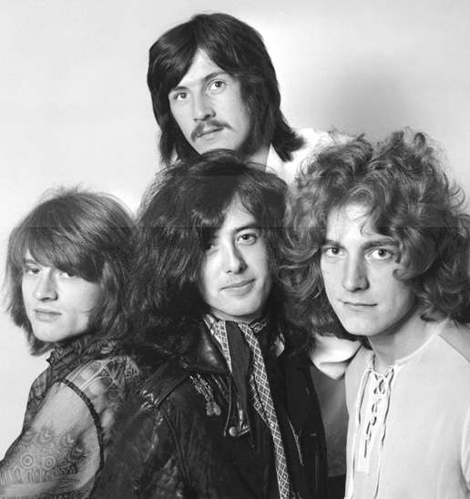 Led Zeppelin are ranked No.