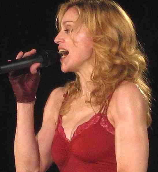 madonna sing