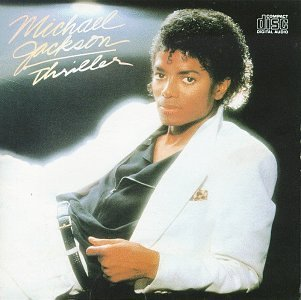 Michael Jackson and the Thriller album cover