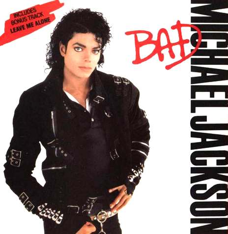 Michael Jackson's Bad album cover
