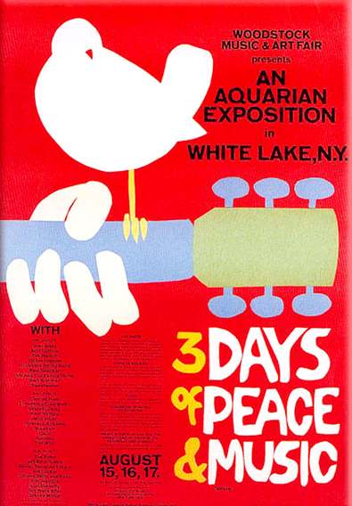 the three days of peace and music during the woodstock festival in 1969 The woodstock festival happened during a time of foreign conflict and racial tensions in america woodstock, however, was not just about the music this event was a center for the 1960s.