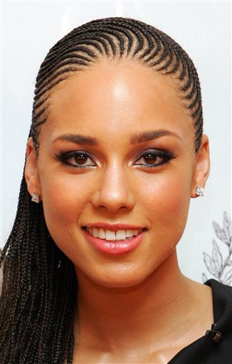 Alicia Keys: 2011 BET Awards Beauty and video