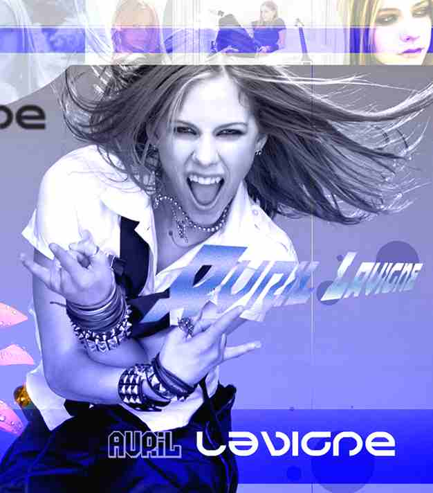 Avril Lavigne poster wallpaper art. Avril Lavigne poster wallpaper