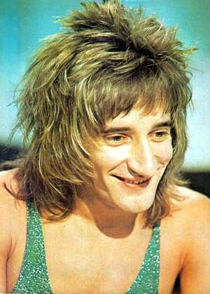 a young rod stewart  new faces
