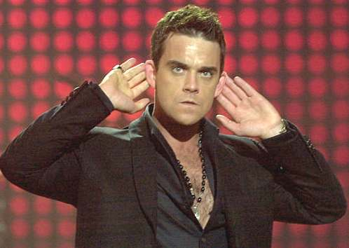 ROBBIE WILLIAMS FOTOS