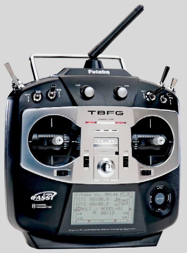 FUTABA and HITEC MODEL RADIO CONTROL ELECTRONICS AMERANG LANCING
