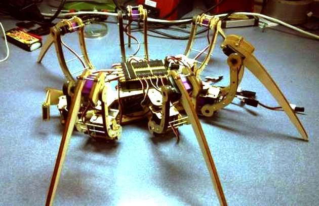 Daniel schatzmayr spiderbot metalab robot hacker solutioingenieria Gallery