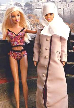 Barbie facing comparison with the Middle Eastern Fulla doll