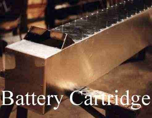 Early battery cartridge design be1