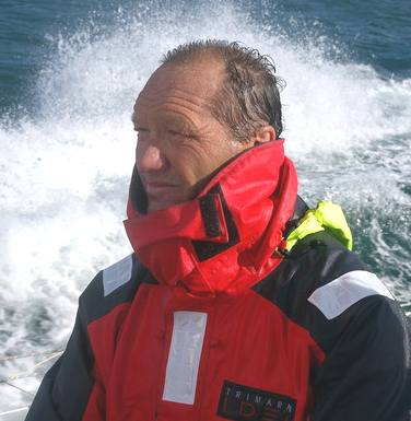 Francis Joyon, skipper IDEC world solo record attampt 2008