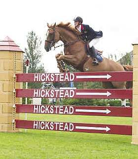 Trade Stands Hickstead : Hickstead all england show jumping course and douglas burn