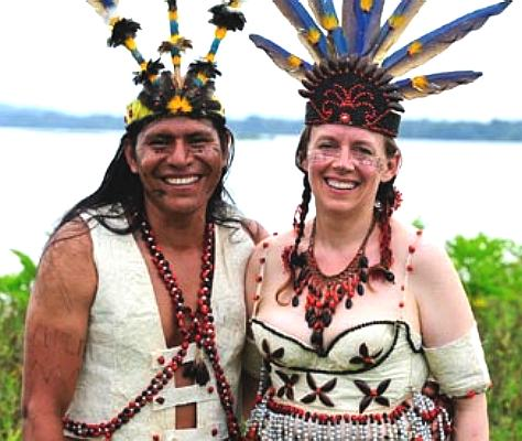 Patricio Jipa, a real life Shaman and his wife Mari Muench