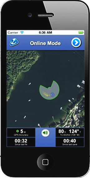 Smart Gps Based Google Maps Iphone Application To Monitor Boat Position