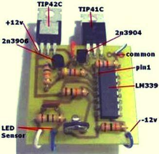 Sun Tracker Hitec Servo Actuator Controlling Alignment